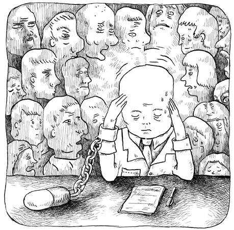 Le mal-être surmédicalisé